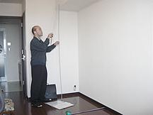 フルオーダー家具STEP4|その後必要に応じて、現場の下見、寸法どりをさせていただきます。
